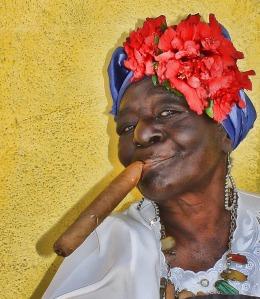 cuban lady up close
