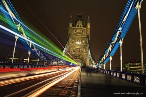London Bridge Light Trails