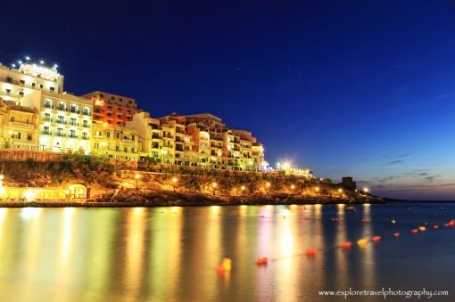 Gozo, Malta as Night falls