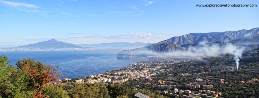 Sorrento and Mount Vesuvius
