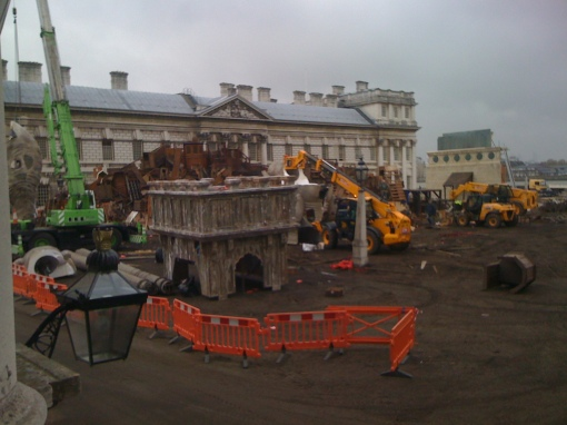 Les Miserables Film Set